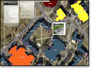 Interactive Virginia Tech map